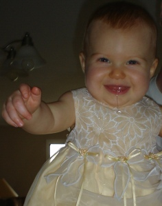 First Mother's Day- Emalynn, 9 months old